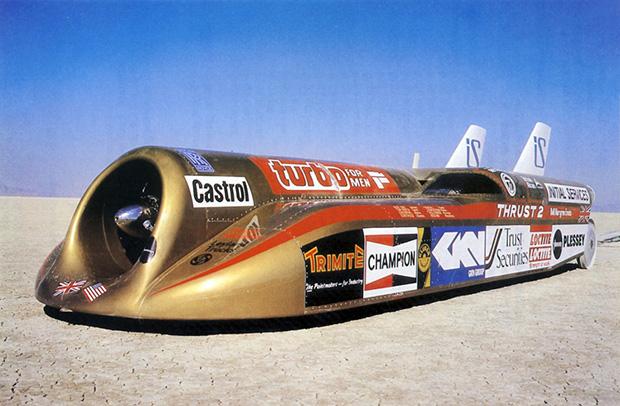 thrust2-jet-car - King of Fuel